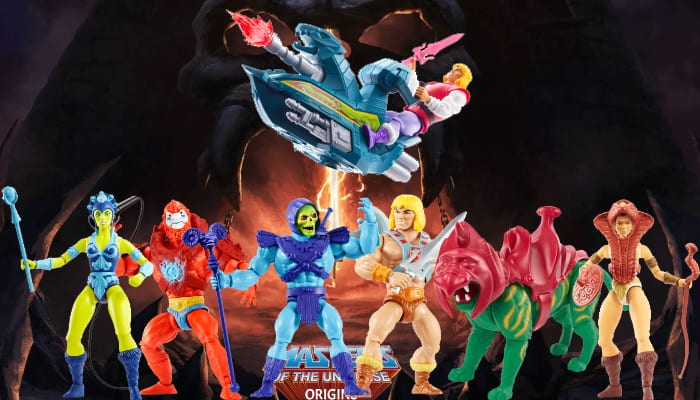 MOTU Origins Action Figures