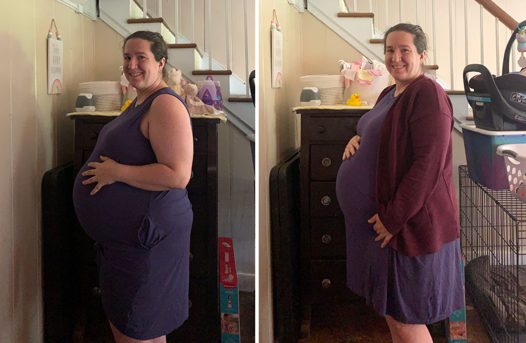 35 weeks and 5 days!